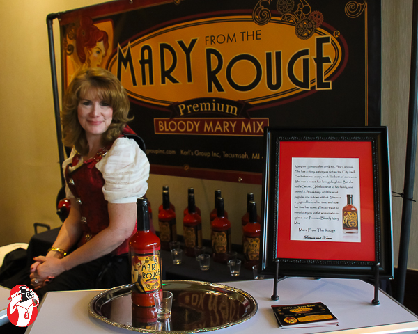Mary Rouge at the Michigan Steam Expo